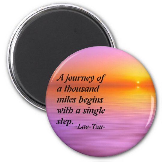 Lao-Tzu quote inspirational magnet