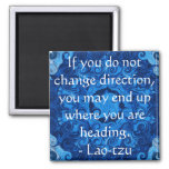 Lao tzu Spiritual Quote and Wize Saying Refrigerator Magnets