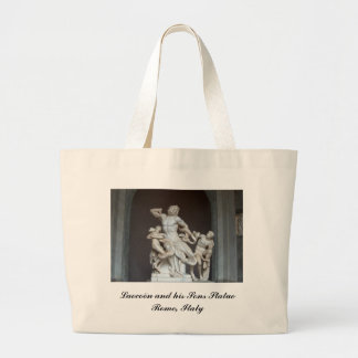 Laocoön and his Sons Statue in the Vatican Museum Jumbo Tote Bag