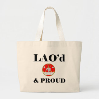 LAO'd & PROUD Beach Bag