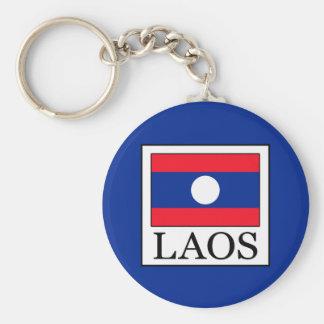 Laos Basic Round Button Key Ring