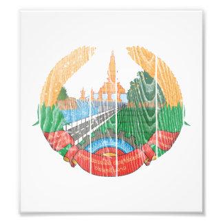 Laos Coat Of Arms Photo Print
