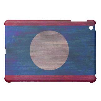 Laos distressed flag iPad mini cover