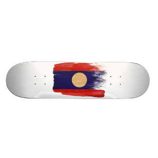 Laos Flag 20 Cm Skateboard Deck
