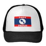 Laos Flag and pride Hat