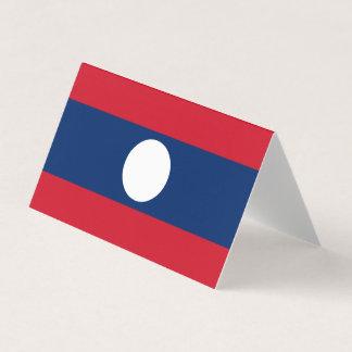 Laos Flag Card