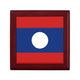 Laos Flag Gift Box