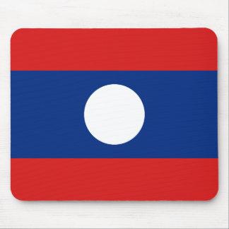 Laos Flag Mousepad