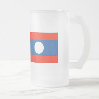 Laos Flag Mugs