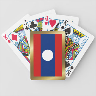 Laos Flag Playing Cards