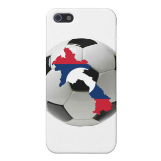 Laos football soccer cover for iPhone 5/5S