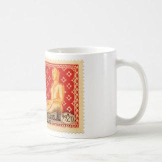 Laos Red Buddha Mug