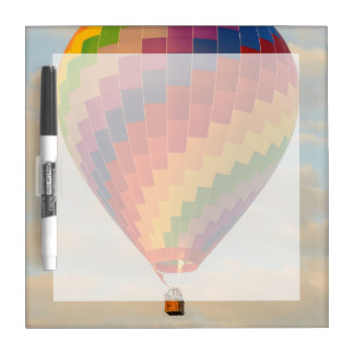 Laos, Vang Vieng. Hot air balloon Dry Erase Board