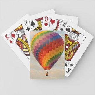 Laos, Vang Vieng. Hot air balloon Playing Cards
