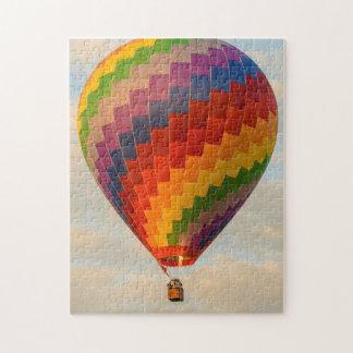 Laos, Vang Vieng. Hot air balloon Puzzles