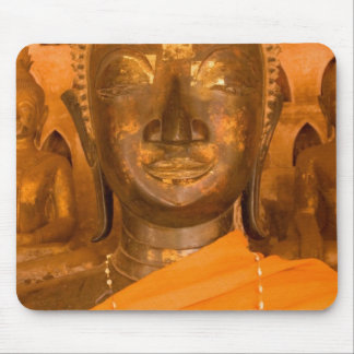 Laos, Vientiane, one of 6840 Buddha images in 2 Mouse Pad
