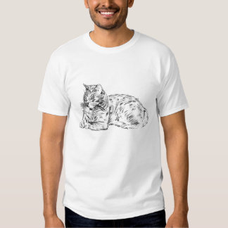 laotzu pencil sketchblkwht shirts
