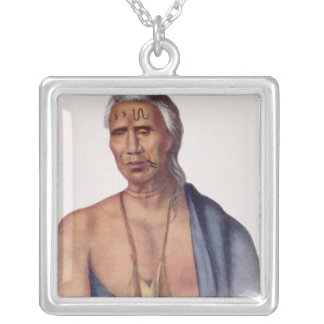 Lap-Pa-Win-Soe, a Delaware Chief Necklaces