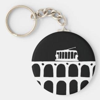 Lapa Arches . Rio Basic Round Button Key Ring