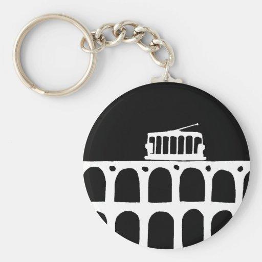 Lapa Arches . Rio Keychains