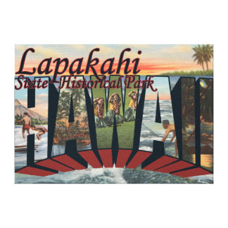 Lapakahi State Historical Park, Hawaii Canvas Print