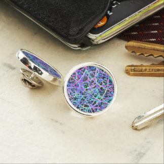 Lapel Pin Informel Art Abstract