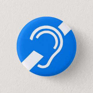 Lapel Pin - International Deaf Symbol