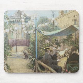 L'Aperitif Concert, Rue Dorsel Mouse Pad