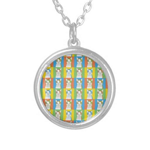 LaPerm Cartoon Pop-Art Necklaces