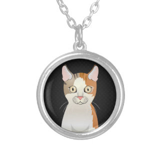 LaPerm Cat Cartoon Paws Personalized Necklace