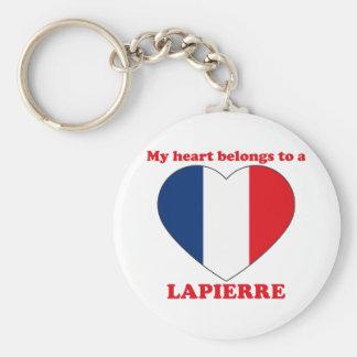Lapierre Basic Round Button Key Ring