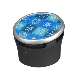 Lapis Blue Snowflakes Collection Speaker