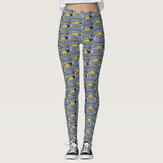 Lapis Grey Figaro Car Convoy Traffic Leggings