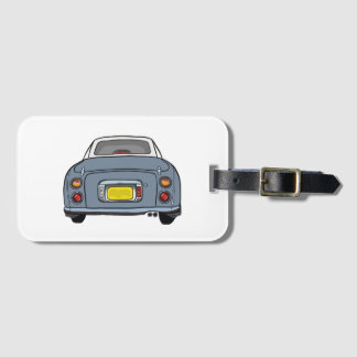Lapis Grey Figaro Car Luggage Tag