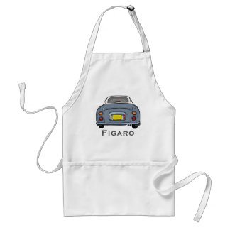 Lapis Grey Nissan Figaro Car BBQ Apron