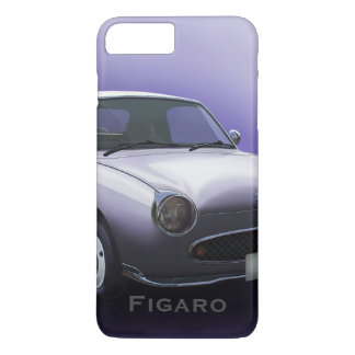 Lapis Grey Nissan Figaro Car iPhone 8 Plus/7 Plus Case