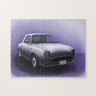 Lapis Grey Nissan Figaro Car Jigsaw Jigsaw Puzzle