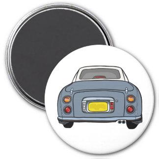 Lapis Grey Nissan Figaro Car Magnet