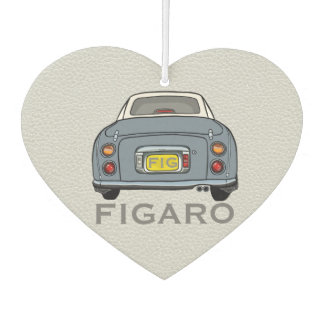Lapis Grey Nissan Figaro New Car Smell Dangly