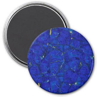 Lapis Lazuli 7.5 Cm Round Magnet