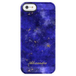 Lapis Lazuli Clear iPhone SE/5/5s Case