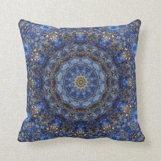 Lapis Lazuli Laminate Mandala Pillow