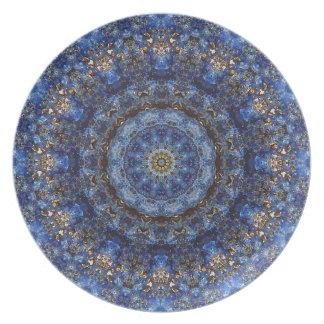 """Lapis Lazuli Laminate"" Plate"
