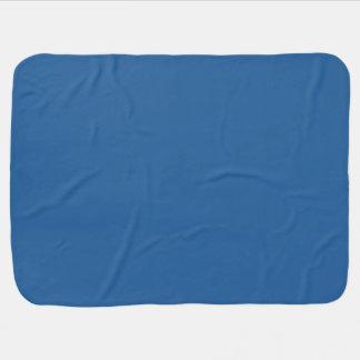 LAPIS LAZULI (solid rich blue color) ~ Swaddle Blankets