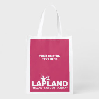 LAPLAND custom color reusable bag