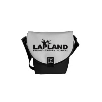 LAPLAND custom messenger bag