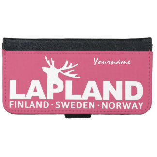 LAPLAND custom monogram cases iPhone 6 Wallet Case