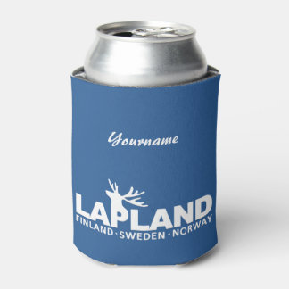 LAPLAND custom name & color can coolers