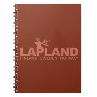 LAPLAND custom notebook