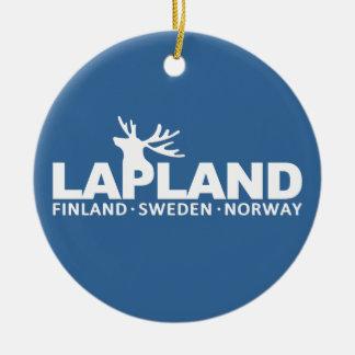 LAPLAND custom ornament